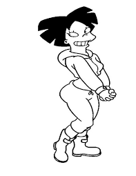 futurama coloring pages. Unique Pages Futurama Coloring Pages 3 In G