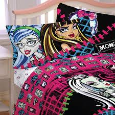 Monster-High-Dolls-Bedding-All-Ghouls-Allowed-Bed-Sheet-Set ...