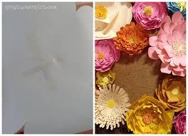 paper flower wall art ideas
