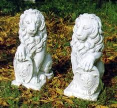 lions statue marble lions set floine lion statuary