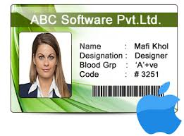 Identity Card Design Design Customized Id Cards In Various Shapes On Mac Using Id Card