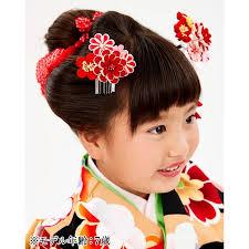 七五三 髪飾り 3歳 7歳 753 髪飾り 子供 つまみ細工 かんざし フルセット