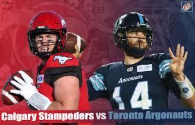 Stampeders Depth Chart Livestream Ppv Cfl Toronto Argonauts Calgary Stampeders