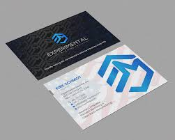 Creative Machine Designs Inc Business Card Design For A Company By Chandrayaan Creative
