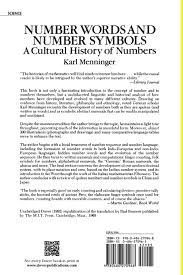 number words and number symbols a cultural history of numbers  number words and number symbols a cultural history of numbers karl menninger 9780486270968 com books