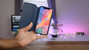 Hands-on: iPhone X <b>Leather Folio Case</b> - like a Smart Case for your ...