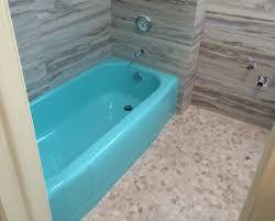 How To Refinish A Bathtub Fiber Glaze Tub Refinishing Before After ...
