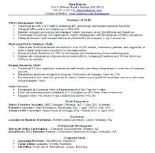 Executive Assistant Resume Objective Objectives For Resume Samples What Is Resume Paper Objectives 76