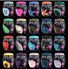 Dylon Dye Colour Chart Dylon Machine Dye Pod 50g 350g Full Range Of Colours
