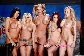 Lesbian orgy porn star