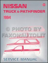 1994 nissan truck and pathfinder wiring diagram manual supplement 1994 nissan pickup truck and pathfinder repair shop manual original 129 00