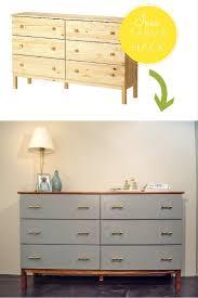ikea tarva dresser refinished. Ikea Tarva Dresser Makeover Hack Refinished B
