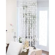 White Patterned Curtains Interesting Half Price Clearance Pure White Heart Patterned Sheer Curtains