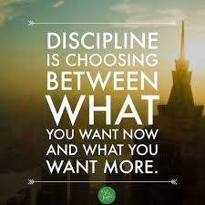 Discipline Quotes Best Fitness Quotes Discipline Is Choosing Between What You Want Now