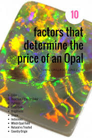 Oval Color Stone Size Chart How To Value Opal The 10 Factors Guide Opal Auctions