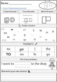Teach sight words to 4 year old|sight word activities for kindergarten children. Free Phase 2 Tricky Words Worksheets Reception Early Years The Mum Educates