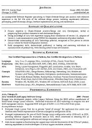 Best Resume Format For Software Developer Software Engineer Resume Examples Software Engineer Resume Samples
