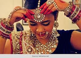 the beautiful gujarati bride bridal hairstyle bridal saree and more