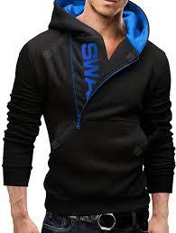 IZZUMI Long Sleeve Hoodie Black and Blue XL Hoodies Sale, Price ...