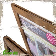 Wooden Menu Display Stands Table Stand Menu Holder Wood Menu Stand Restaurant Menu 68