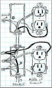 how to wire an outlet how to wire an outlet in a circuit