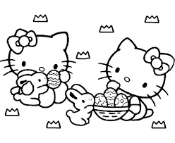 Gratis Kleurplaten Hello Kitty
