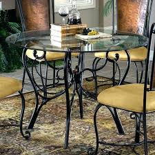 wrought iron dining room sets kitchen table and chairs retro vintage round card dining room sets