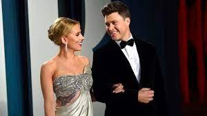 Scarlett Johansson, Colin Jost welcome ...