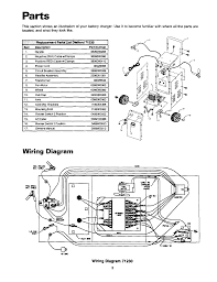 schumacher battery charger wiring schematic schumacher page 4 of sears automobile battery charger 200 7123 user guide on schumacher battery charger wiring