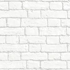 brick wallpaper white glitter brick wallpaper in white glitter brick wallpaper in white arthouse white brick