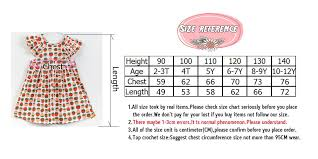 Girls Clothing Chart Summer New Casual Style Fashion Fly Sleeve Girls Bow Dress Girl Clothing For Children Cute Fruit Pineapple Print Dresses