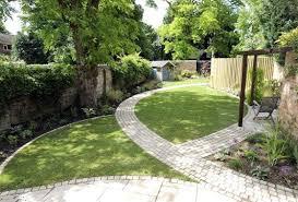 creative ideas for a long narrow garden