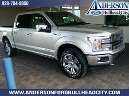 New 2018 Ford F-150 Lariat 4D SuperCrew in #PE25777 | Anderson Auto ...