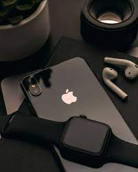 black iPhone X, electronics, cell phone ...