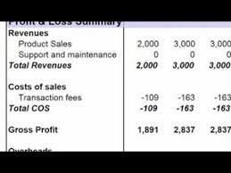 Statement Of Profit And Loss Basic Accounting Preparing A Profit Loss Statement Youtube