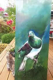 new zealand kereru bird native wood pigeon outdoor wall art panel from my original on outdoor wall art new zealand with new zealand kereru bird native wood pigeon outdoor wall art panel