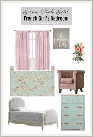 Green Pink And Gold French Girls Bedroom So Much Better With Age