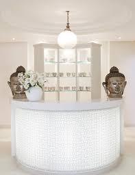 New Salon Reception Desks Intended For Desk Beauty Front Deskblack With  Crystal ...