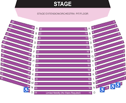 Seating Charts Lisa Smith Wengler Center For The Arts