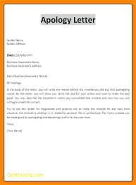 Business Apology Letter For Mistake Adorable 48 Good Apology Letter Steamtraalerenborgenes