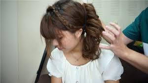自宅で簡単に浴衣に合う髪型セット 女性編 Youtube 髪型 ロング