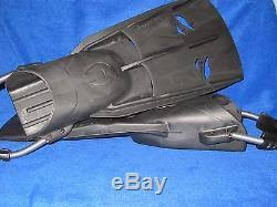 Hollis F2 Scuba Diving And Snorkeling Fins With Spring