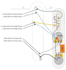 common electric guitar wiring diagrams Strat Wiring Diagram Bridge Tone Stigwood Grease Bucket