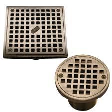 square round 2 thread drain grates
