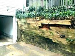 wooden retaining wall retaining wall design ideas wood retaining wall ideas timber retaining wall designs landscape