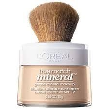 l oréal paris makeup true match loose powder mineral foundation soft ivory 0 35