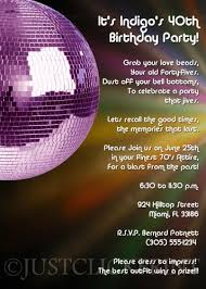 Childrens Disco Invitations 10 X Invitations Gold Blame It On The Boogie Disco Childrens