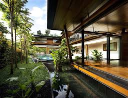 Botanica Landscape Design Magical Botanica House Spectacular Green Home In Singapore