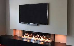 flare gas fireplaces