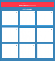Story Outline Template Online Beautiful Storyboard Examples For Students For Kids And